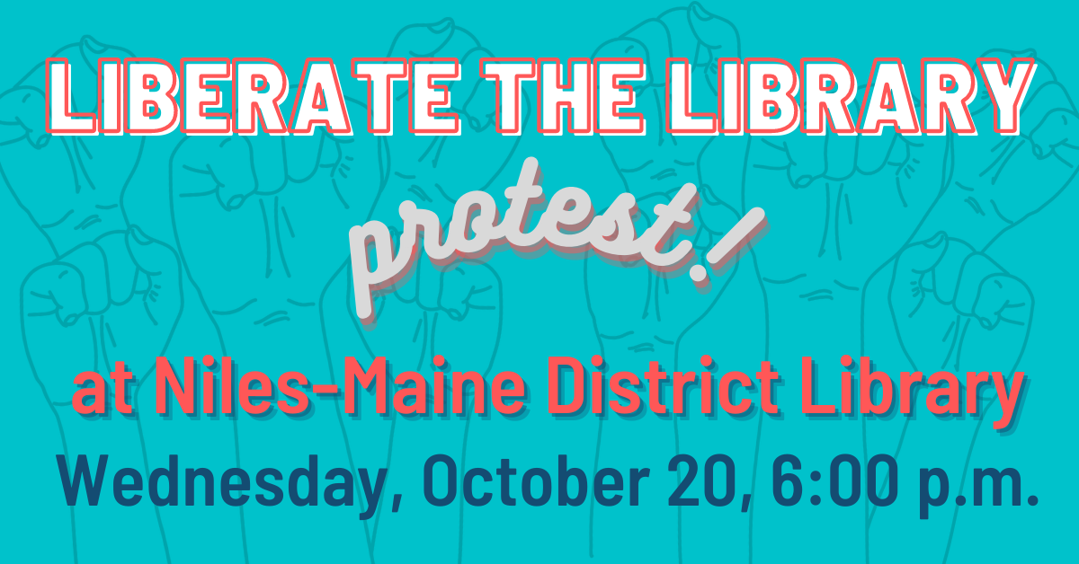 Liberate the Library Protest